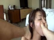 Clipสาวเกาหลีน่ารัก แฟนถ่ายตอนเอากันตอนเช้า โม๊กให้แล้วจับซั่มซอยหีคาที่นอนPornเสียวควยแทน