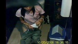 แอบถ่ายห้องน้ำที่มอดังนักเรียนค่ายโดนยามแอบถ่ายไปชักว่าวเห็นหีเต็มสายซ่อนกล้องHide Cam xxxห้ามพลาด